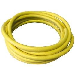 """Wasserschlauch gelb, verstärkt 1/2"""" 1m"""