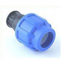 Endstopfen für 25 mm PE-Rohr, verschraubt