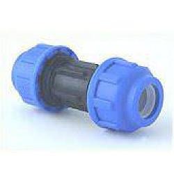 PE-Kupplung 25 auf 25 mm, verschraubt