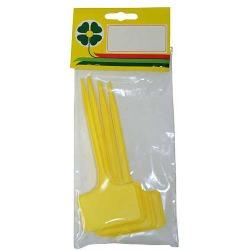 Schildetiketten gelb 15cm, (7 Stk.)