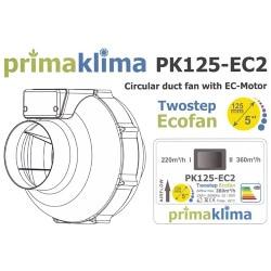 Prima Klima EC 125- 2 Stufen