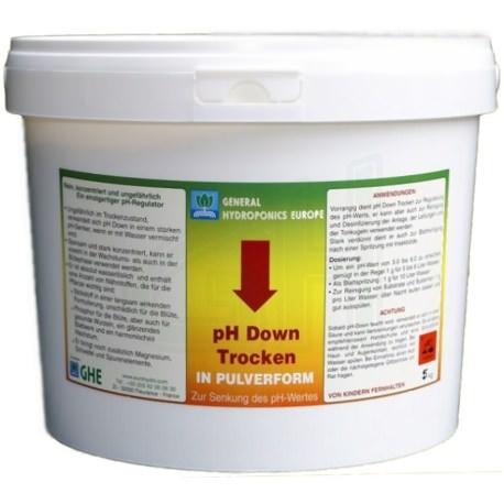 GHE PH- Down Pulver (5kg)