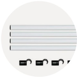 HOMEBOX FIXTURE POLES 120