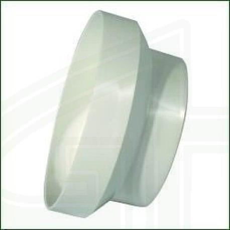 Reduzierstück (Ø150-125mm Kunststoff)